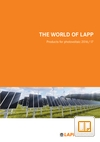 LAPP Products for Photovoltaic Catalogue Cover