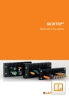 SKINTOP Multi Cable Entry System Catalogue Cover