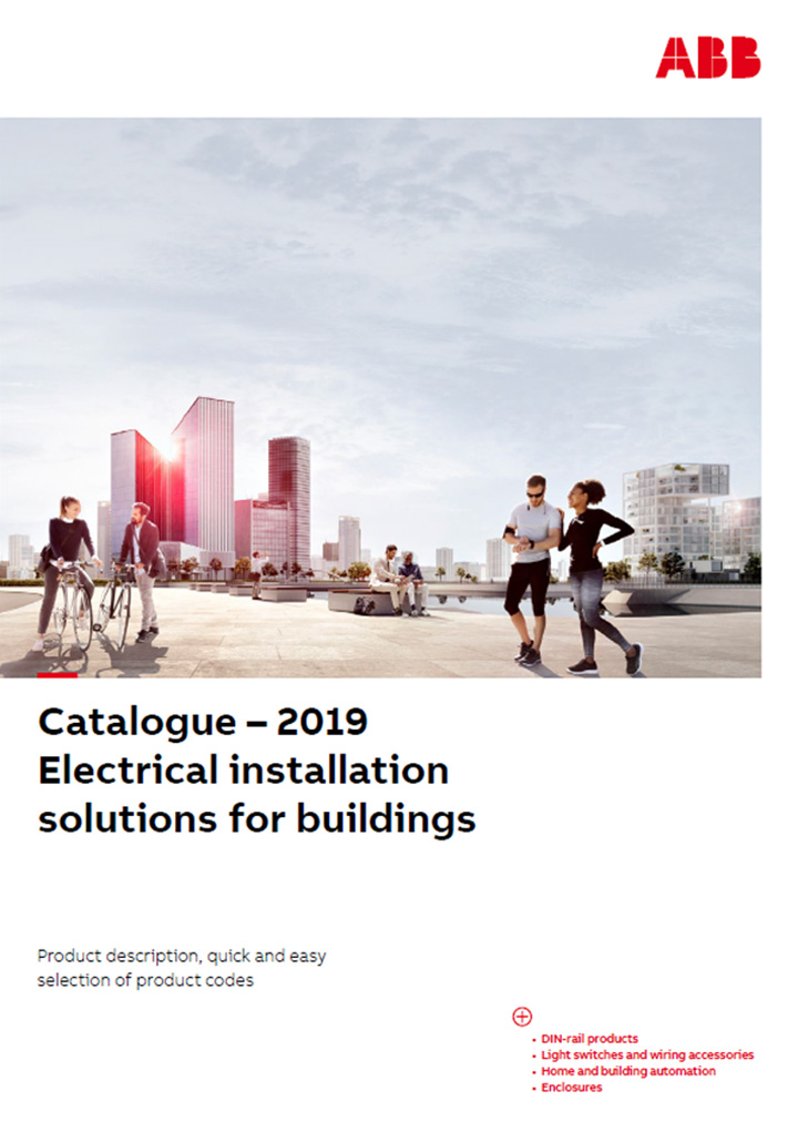 ABB Electrical Installation Solutions For Buildings Catalogue Cover