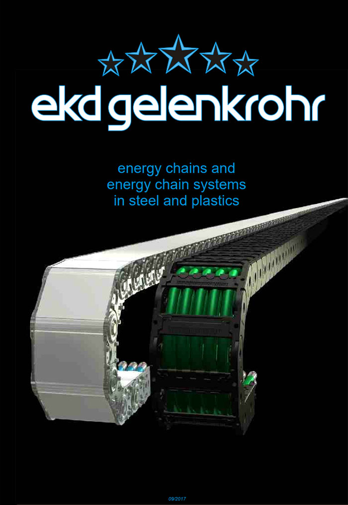 EKD Energy Dragchains 2017 Catalogue Cover