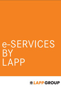 LAPP e-services Catalogue Cover