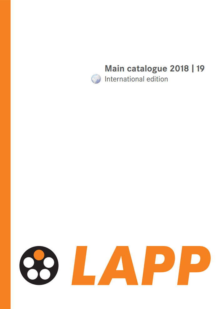 LAPP Main Catalogue Catalogue Cover