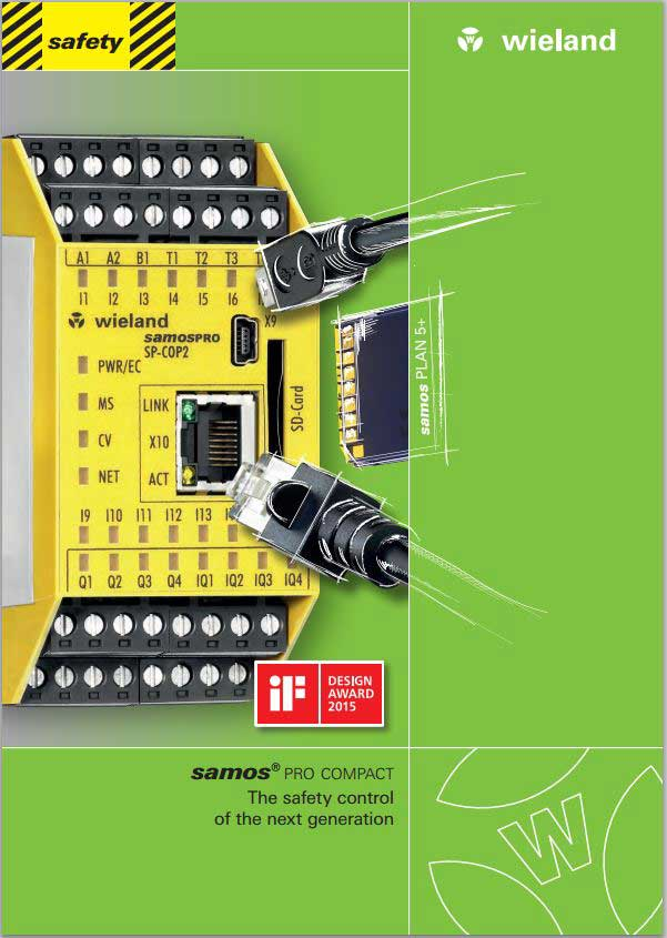 SAMOS Pro Compact Catalogue Cover