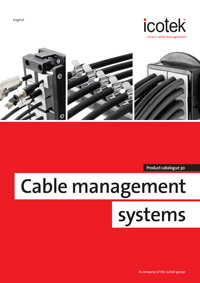 Icotek Cable Management Systems Catalogue 2018 Catalogue Cover