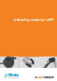 E-Mobility made by Lapp Catalogue Cover