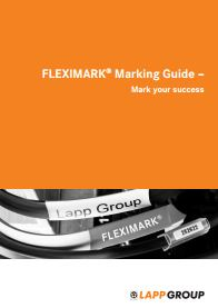 FLEXIMARK Marking Guide Catalogue Cover