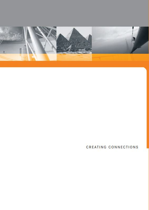 Creating Connections Catalogue Cover