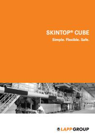 SKINTOP CUBE Catalogue Cover