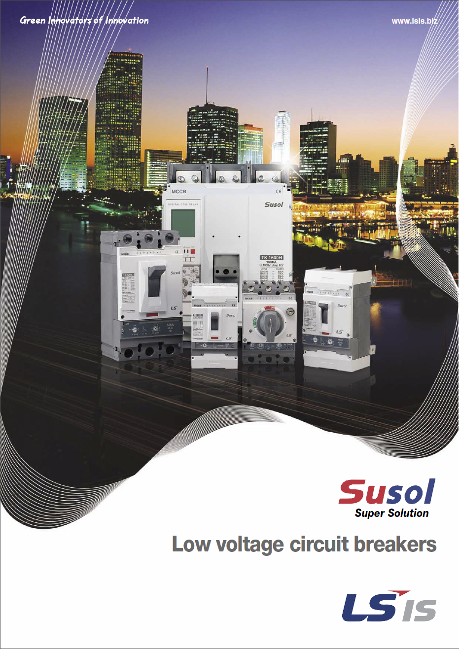 Low voltage circuit breakers Catalogue Cover