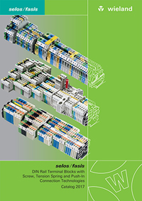 DIN Rail Terminal Blocks Technologies Catalogue Catalogue Cover