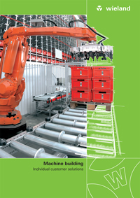 Wieland Machine building 2017 Catalogue Cover