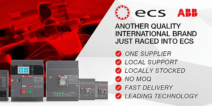 ABB Switchgear Now Available at ECS Banner
