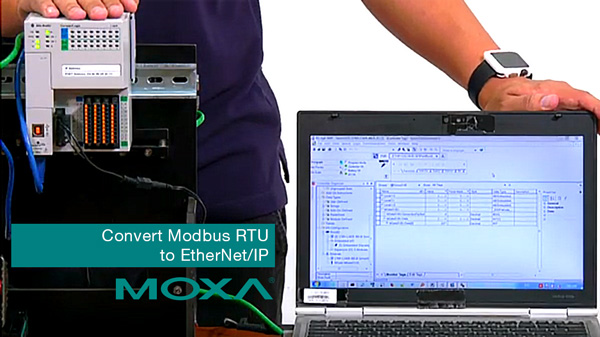 Convert Modbus RTU to EtherNet/IP in 4 steps