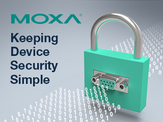 Keeping  Device Security Simple with MOXA