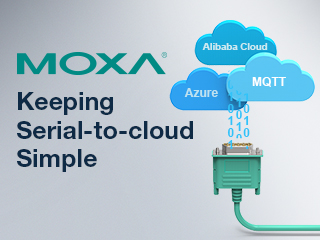 Keeping Serial-to-Cloud Simple with MOXA
