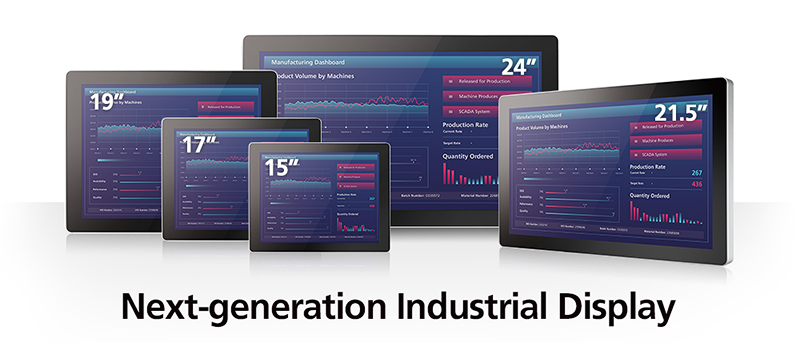 The Next-generation of Industrial Displays from Vecow Banner