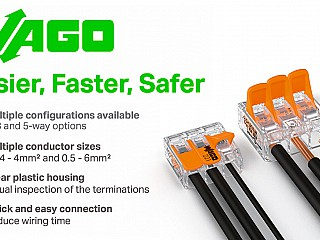 WAGO 221 Quick Connectors - The smarter choice Terminal Block