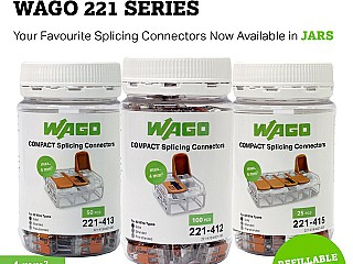 Wago 221 Wire Connectors Now Available in Jars