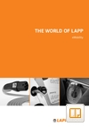 The World Of LAPP EMobility Catalogue Cover