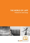 Products for Wind Energy Catalogue Cover