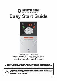 VSD Easy Start Guide Catalogue Cover
